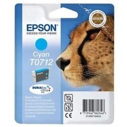 CARTUCCIA ORIGINALE EPSON T0712 CIANO Ghepardo C13T07124021