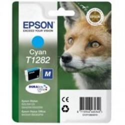 CARTUCCIA ORIGINALE EPSON T1282 CIANO Volpe C13T12824011
