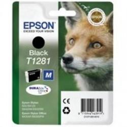 CARTUCCIA ORIGINALE EPSON T1281 NERO Volpe C13T12814011