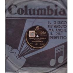78 giri GUIDO AGNOLETTI - Tango della felicità / Verso il destino (Waltzer)