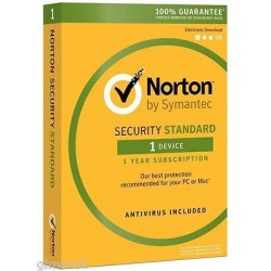 SYMANTEC NORTON SECURITY STANDARD 3.0 Full 1 UTENTE 1 DISPOSITIVO (PC, MAC, Smartphone o Tablet)