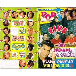Rivista Pop's 1999 nr.45 Ricky Martin, Five, Backstreet Boys