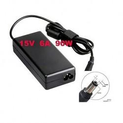 Alimentatore caricabatteria x Notebook TOSHIBA 15V fino a 6,0A 90W 6,3x3,0mm
