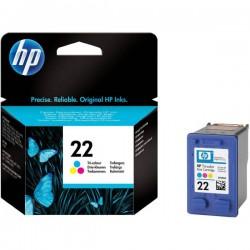 CARTUCCIA ORIGINALE HP 22 COLORE C9352AE 165 pagine