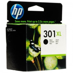 CARTUCCIA ORIGINALE HP 301 XL NERO CH563EE 480 pagine