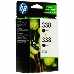 CARTUCCIA ORIGINALE HP 338 NERO MULTIPACK CB331EE 2x480 pagine