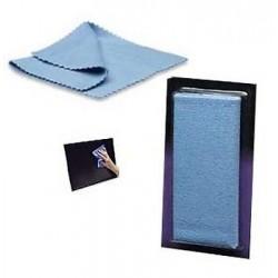 Panno microfibra antistatico 18x11 pulizia Monitor LCD, Lenti, CD/DVD e altro