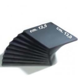CUSTODIA PER CD DVD SLIM SOFT 13x12,5x0,51 cm. Nero CONFEZIONE 50 PEZZI