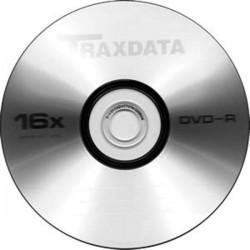 DVD-R TRAXDATA 16x 4.7GB 120MIN. confezione da 100