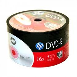 DVD-R HP 16x 4.7GB 120MIN. confezione da  50