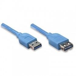 CAVO USB 3.0 PROLUNGA A-A M/F Superspeed  2 mt.