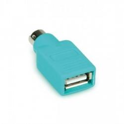 ADATTATORE da USB FEMMINA a PS2 MASCHIO PER MOUSE