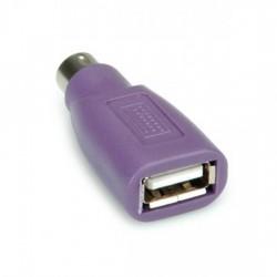 ADATTATORE da USB FEMMINA a PS2 MASCHIO PER TASTIERA