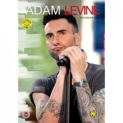 CALENDARIO 2013 ADAM LEVINE + 12 ADESIVI
