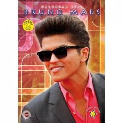CALENDARIO 2013 BRUNO MARS  + 12 ADESIVI