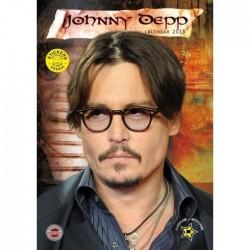 CALENDARIO 2013 JOHNNY DEPP  + 12 ADESIVI