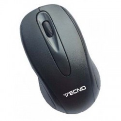 MOUSE ottico 3 tasti 1000 dpi con scroll, USB Colore nero