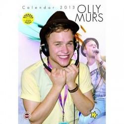 CALENDARIO 2013 OLIVER STANLEY OLLY MURS  + 12 ADESIVI