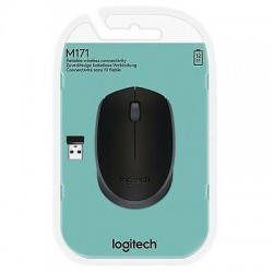 MOUSE LOGITECH Wireless Mouse M171 Nero 1000dpi Connessione wireless a 2,4GHz