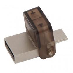 MEMORIA FLASH PEN DRIVE DataTraveler microDuo DTDUO/16GB MicroUSB+USB 2.0 SUPPORTA OTG