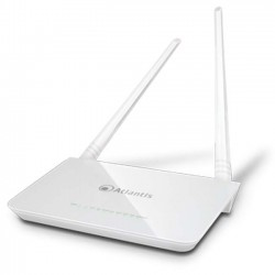 ROUTER ATLANTIS ADSL2+ 300M 802.11n ACCESS POINT SWITCH 4P LAN, 2 ANTENNE da 5dBi