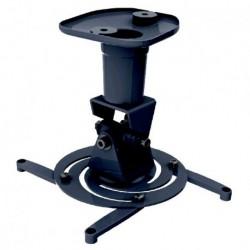 Supporto Universale da Soffitto per Proiettori fino a 10 kg, 4 bracci di supporto regolabili, Nero