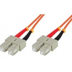 Cavo fibra ottica SC/SC 50/125 Multimodale 2 m OM2