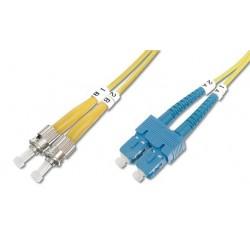 Cavo fibra ottica ST/LC 9/125 Monomodale 1 m OS2