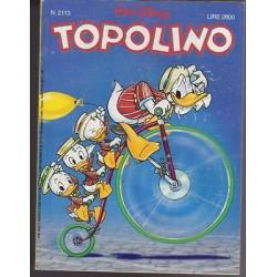 Topolino n. 2113 Anno 1996