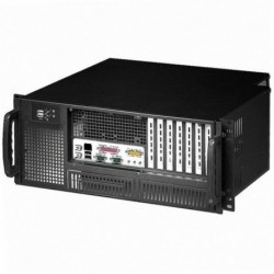 Chassis Industriale Rack 19''/Desktop 4U Ultra Compatto Nero