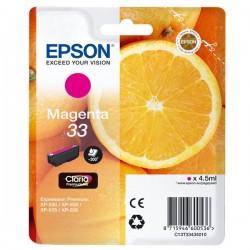 CARTUCCIA ORIGINALE EPSON T3343 MAGENTA 33 Arancia C13T33434010 4,5 ml.