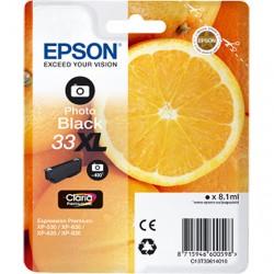 CARTUCCIA ORIGINALE EPSON T3361 NERO FOTO 33 XL Arancia C13T33614010 8,1 ml.