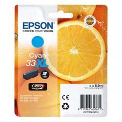 CARTUCCIA ORIGINALE EPSON T3362 CIANO 33 XL Arancia C13T36224010 8,9 ml.