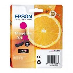 CARTUCCIA ORIGINALE EPSON T3363 MAGENTA 33 XL Arancia C13T33634010 8,9 ml.
