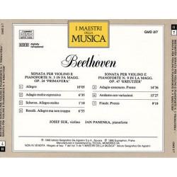 Beethoven - Sonate per Violino e Pianoforte Nr. 5 In Fa Magg.Op.24 'Primavera' &  Nr. 9 In La Magg.Op.47 'Kreutzer'