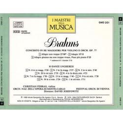 Brahms - Concerto In Re Maggiore Per Violino E Orch. Op. 77 / 10 Danze Ungheresi