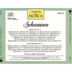 Schumann - Nikita Magaloff: Carnival Op. 9 / Studi Sinfonici Op. 13