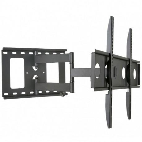 """STAFFA A MURO FULL MOTION SLIM Estensibile FINO a 50 cm. per TV LED/LCD DA 32"""" A 65' 'VESA max. 600x400"""