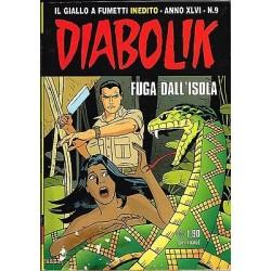 DIABOLIK (2007) Nr. 9 - Fuga dell'isola