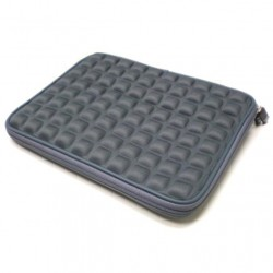 "Custodia protettiva EVA x Tablet e iPad Air / iPad 2, 3, 4 fino a 9.7\ Pollici, Grigio"""