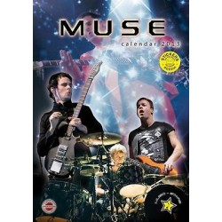 CALENDARIO 2013 MUSE + 12 Adesivi