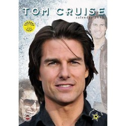 CALENDARIO 2013 TOM CRUISE + 12 Adesivi