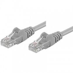 Cavo rete Ethernet Patch CCA Cat.5e U/UTP Grigio  3,0 mt