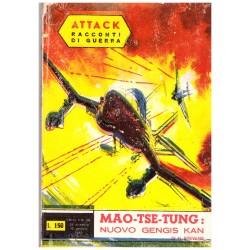 ATTACK! Racconti di guerra Nr.26 - Mao-Tse-Tung, H. Stevens - 1963