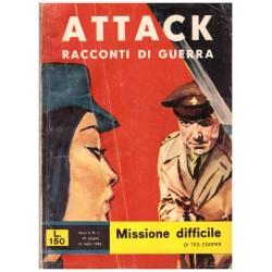 ATTACK! Racconti di guerra Nr.17 - Missione difficile, Ted Cooper - 1962