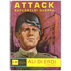 ATTACK! Racconti di guerra Nr.15 - Ali d'eroi, Renè Duval - 1962