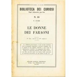 Biblioteca dei curiosi N.26 - F. Guidi - Le donne dei faraoni (1934)