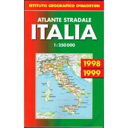 Atlante Stradale Italia 1998-1999 Istituto Geografico De Agostini