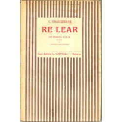 Shakespeare, Re Lear (1924) ed. Cappelli