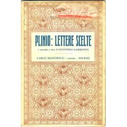 Plinio, Lettere scelte a cura di Celestino Garibotto (1934) ed. Signorelli